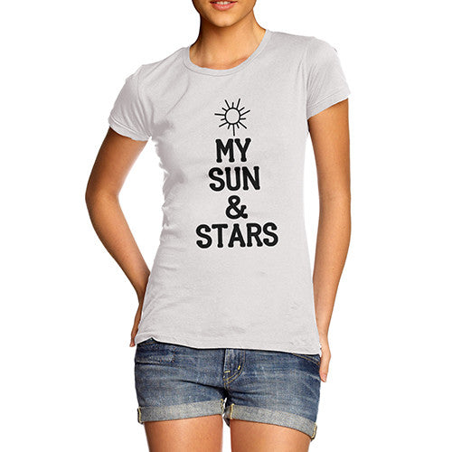 Women's My Sun And Stars Cotton T-Shirt