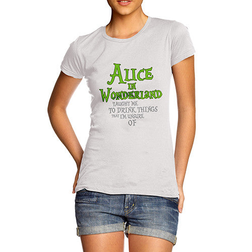Womens Alice In Wonderland T-Shirt