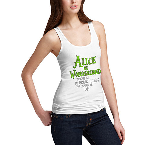 Womens Alice In Wonderland Tank Top