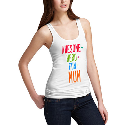 Womens Awesome Mum Tank Top
