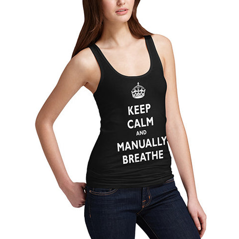 Women's Keep Calm And Breathe Tank Top