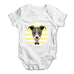 Greyhound Baby Grow Bodysuit
