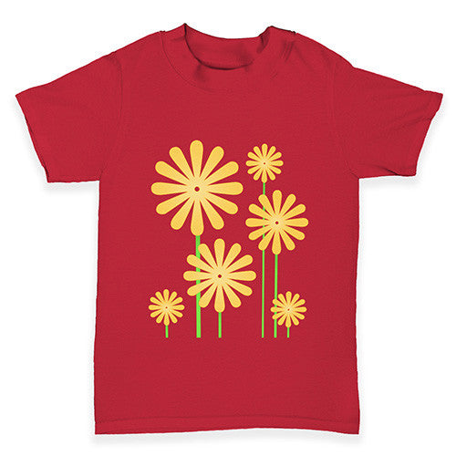 Sunflowers Baby Toddler T-Shirt