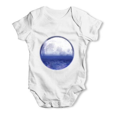 Ocean Moon Baby Grow Bodysuit