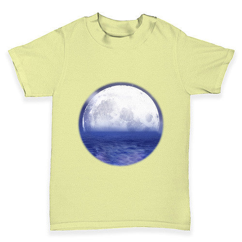 Ocean Moon Baby Toddler T-Shirt