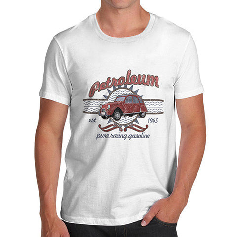Men's Vintage Petroleum Car T-Shirt