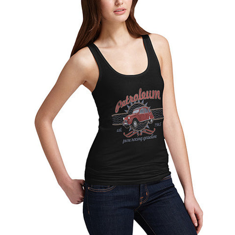 Women's Vintage Petroleum Car Tank Top