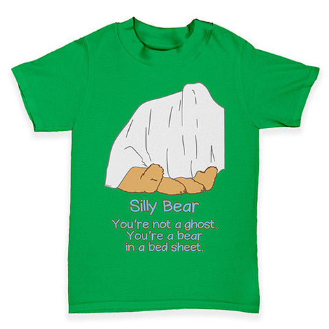 Silly Ghost Bear Baby Toddler T-Shirt