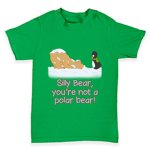 Guin and Silly Bear Baby Toddler T-Shirt