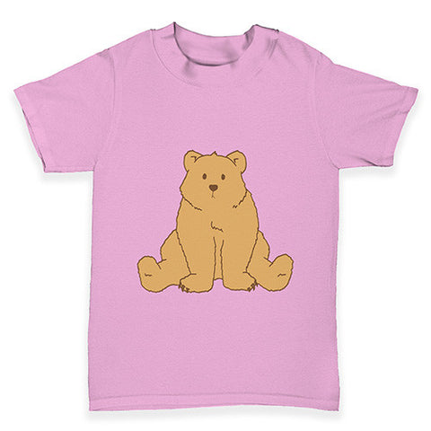 Puzzled Silly Bear Baby Toddler T-Shirt