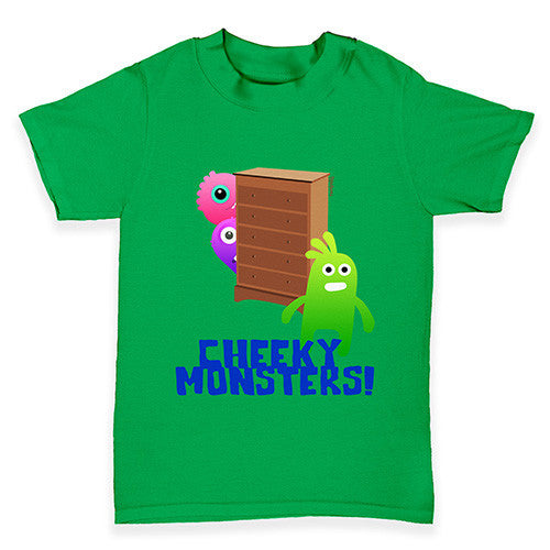 Cheeky Monsters Baby Toddler T-Shirt