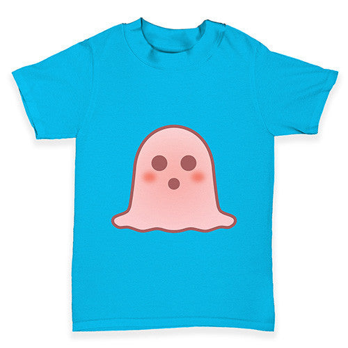 Surprised Emoji Ghost Baby Toddler T-Shirt