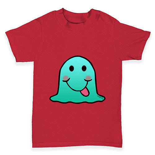 Silly Blob Emoji Baby Toddler T-Shirt