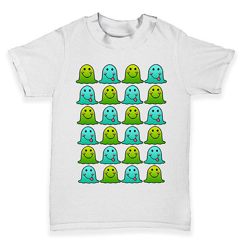 Silly & Happy Blob Monster Baby Toddler T-Shirt