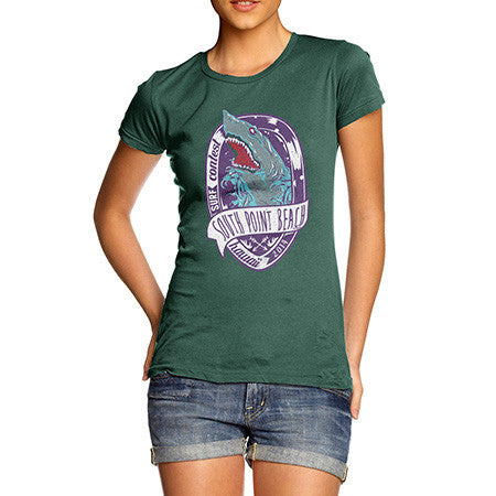 Women's South Point Beach Surfer T-Shirt