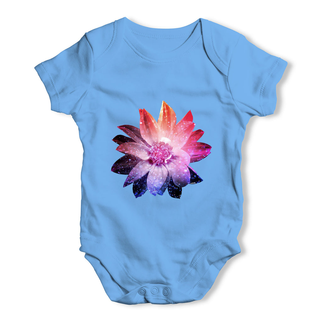 Cosmic Flower Baby Grow Bodysuit