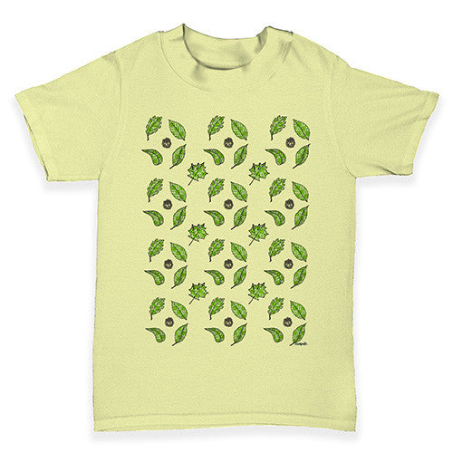 Falling Leaves Baby Toddler T-Shirt