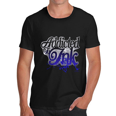 Men's Addicted To Ink T-Shirt