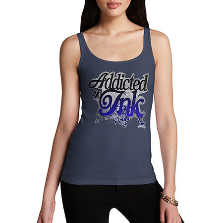 Women's Addicted To Ink Tank Top