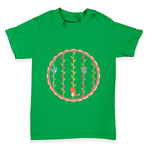 Woodlands Print Baby Toddler T-Shirt