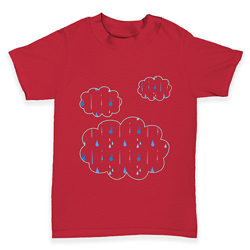 Cute Rain Clouds Baby Toddler T-Shirt