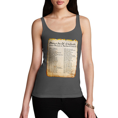 Women's Monarchs Of England From 1066 Tank Top