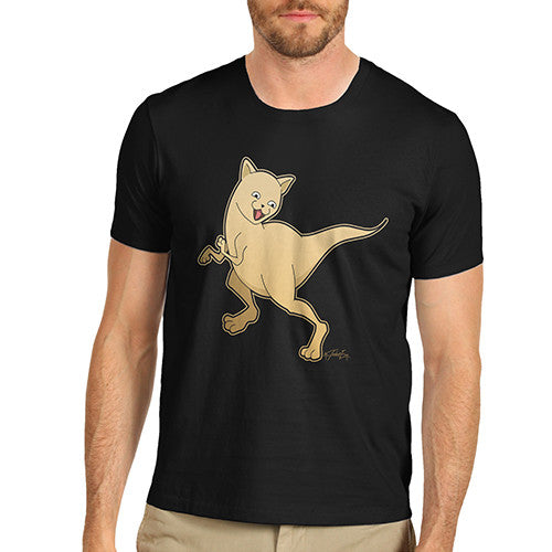 Men's Dinosaur Kitty T-Shirt
