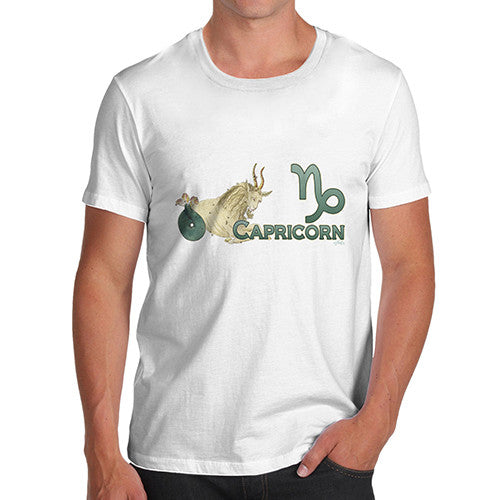 Men's Capricorn Zodiac Astrological Sign T-Shirt