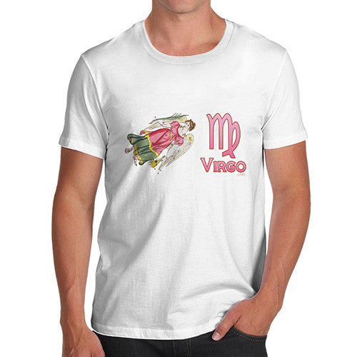 Men's Virgo Zodiac Astrological Sign T-Shirt
