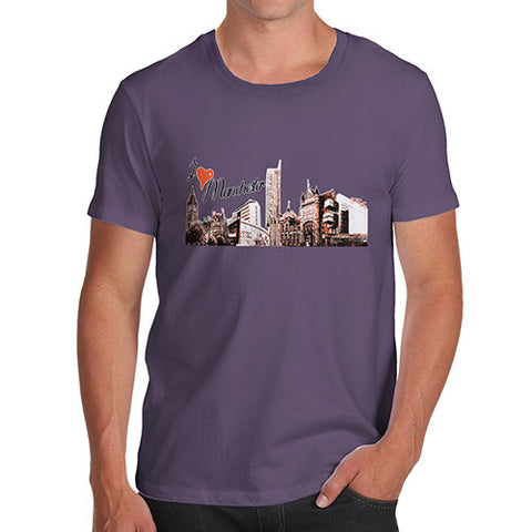 Men's Love Manchester T-Shirt