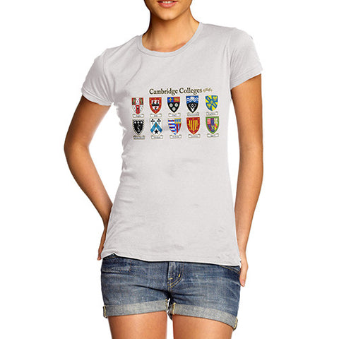 Women's Cambridge Crest Badge T-Shirt