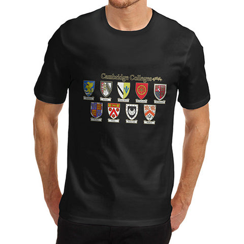 Men's Cambridge Crest Blazon T-Shirt
