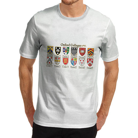 Men's Oxford Crest Badge T-Shirt