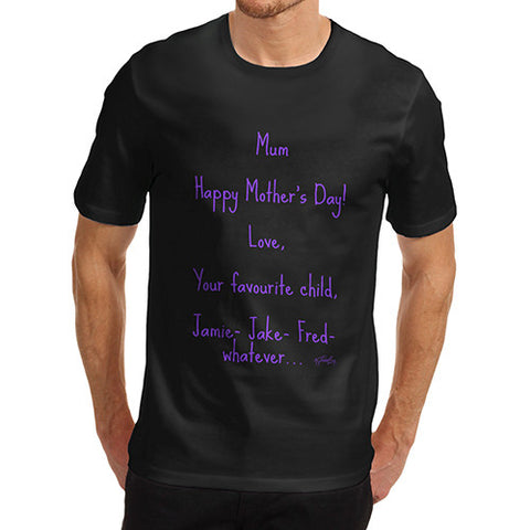 Men's Happy Mother's Day T-Shirt
