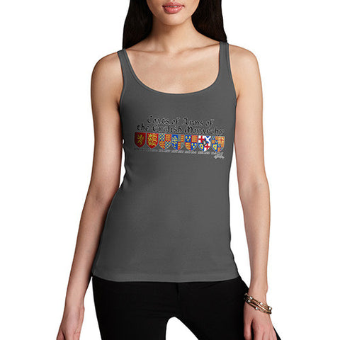Women's English Monarchy Coat Of Arms Tank Top