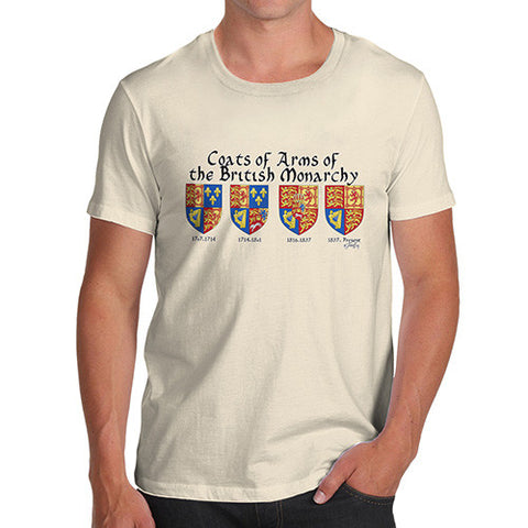 Men's British Monarchy Coats Of Arms T-Shirt
