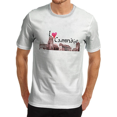 Men's I Love Cambridge T-Shirt