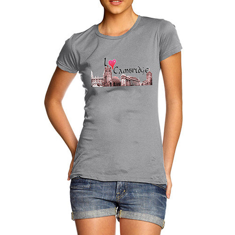 Women's I Love Cambridge T-Shirt
