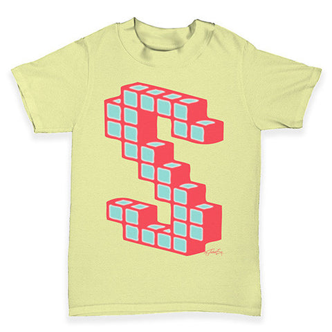 Block Letter S Baby Toddler T-Shirt