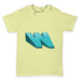 Alphabet Letter W Baby Toddler T-Shirt
