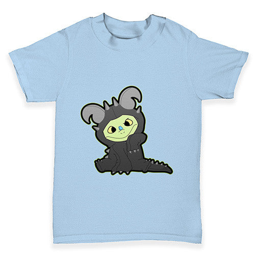 Cross eyed Snap The Dragon Baby Toddler T-Shirt