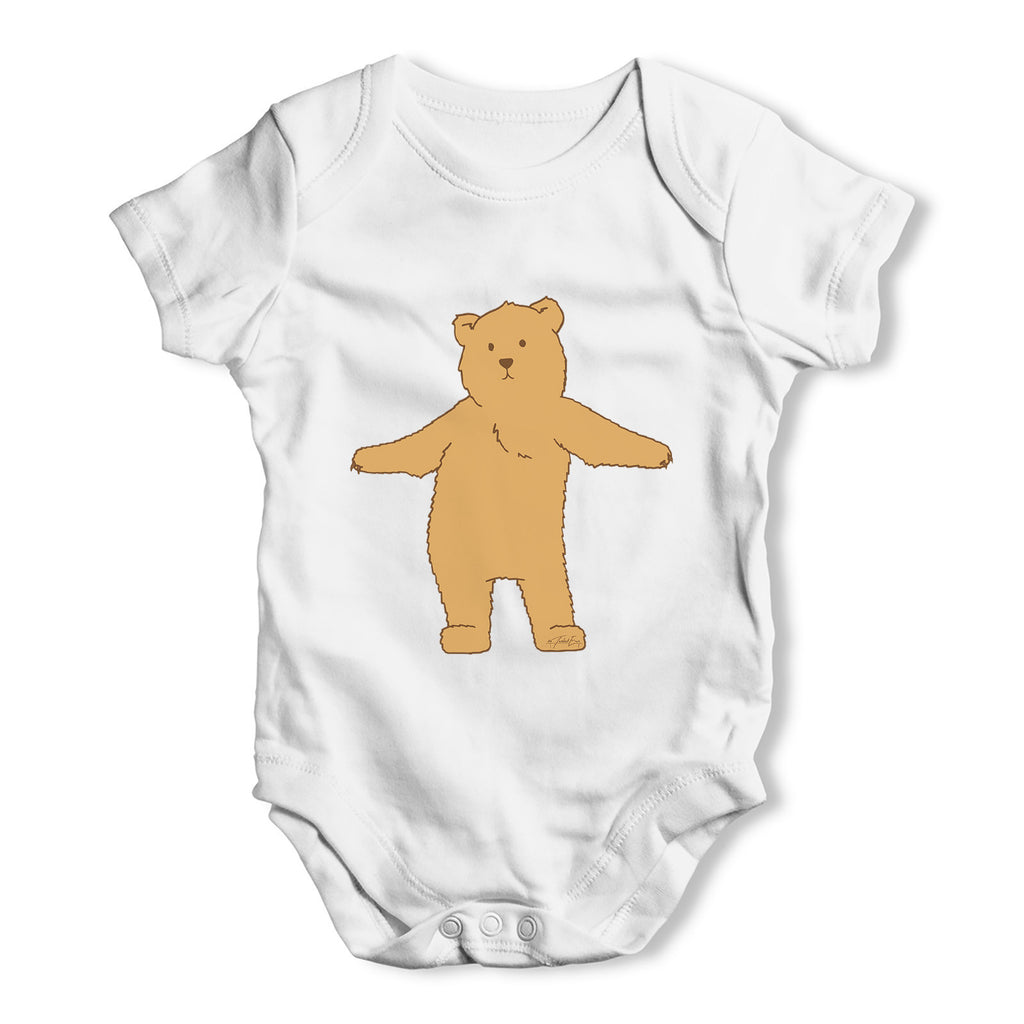 Silly Bear Dancing Baby Grow Bodysuit