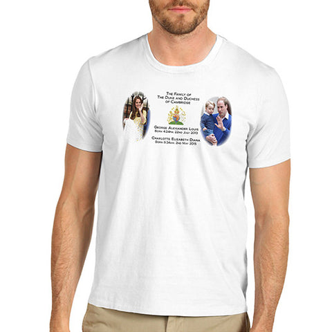 Men's A Growing Royal Family T-Shirt