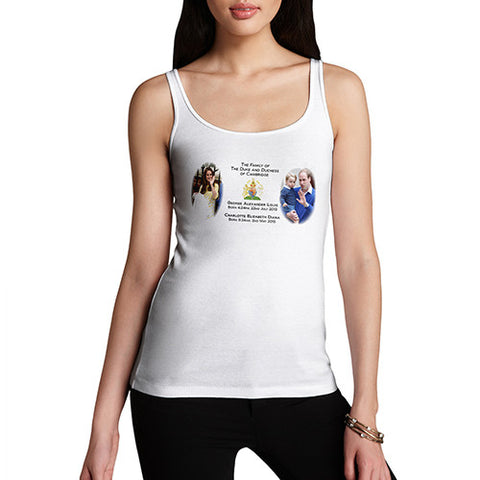 Women's A Growing Royal Family Tank Top