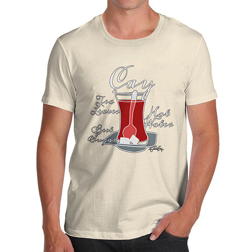 Men's Tea Recipe Turkish Cay T-Shirt