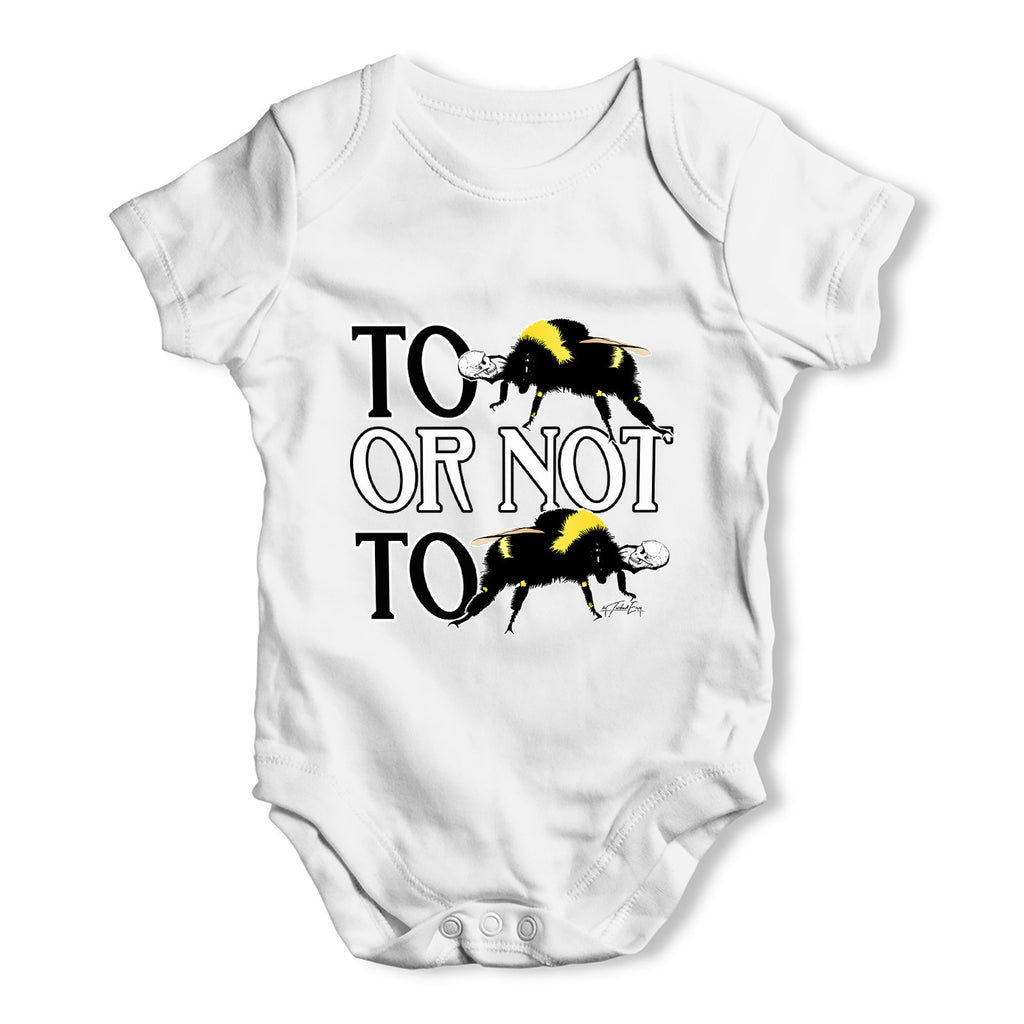 To Be Or Not To Be Baby Grow Bodysuit