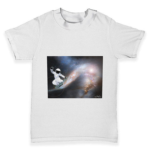 Space Surfing Baby Toddler T-Shirt