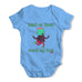 Trick Or Treat Smell My Feet Baby Grow Bodysuit