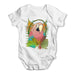Rainbow Lorikeet Parrot Baby Grow Bodysuit