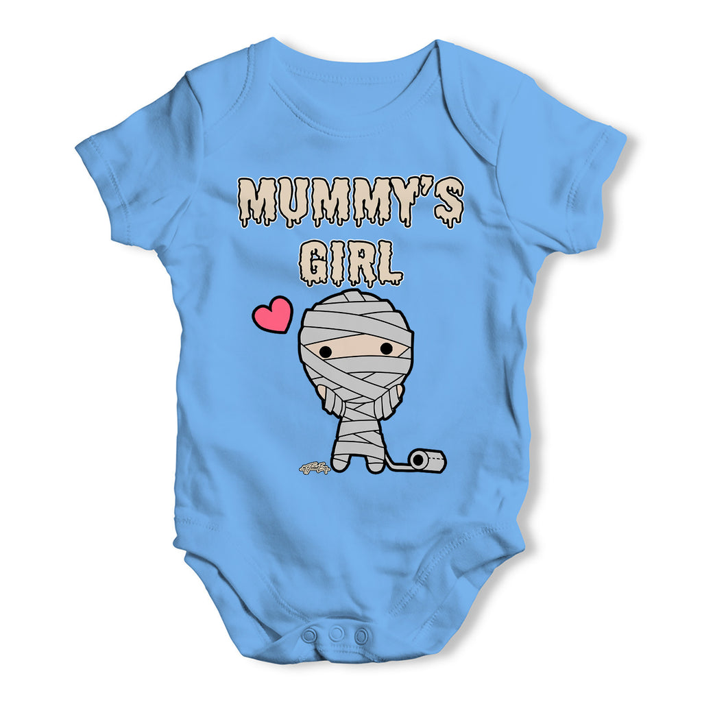 Scary Mummy's Girl Baby Grow Bodysuit